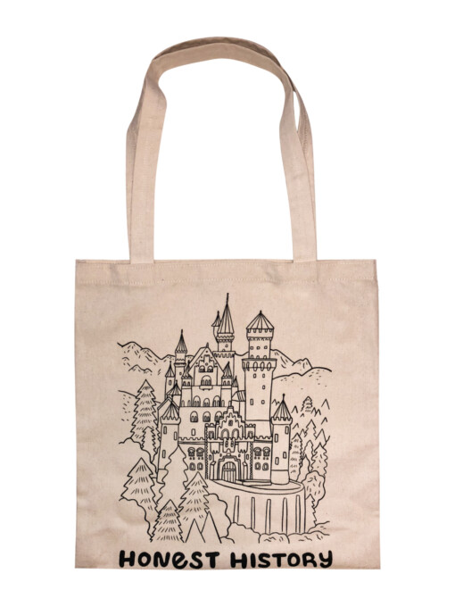 Color-your-own tote bag